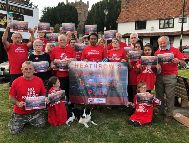 Red alert: Heathrow expansion opponents