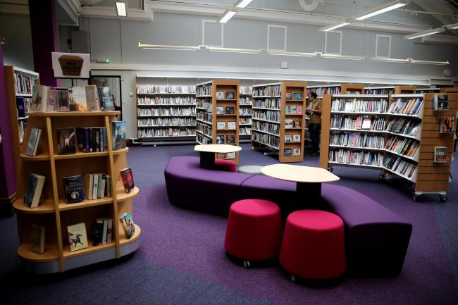 Watford Library. Photo: Holly Cant