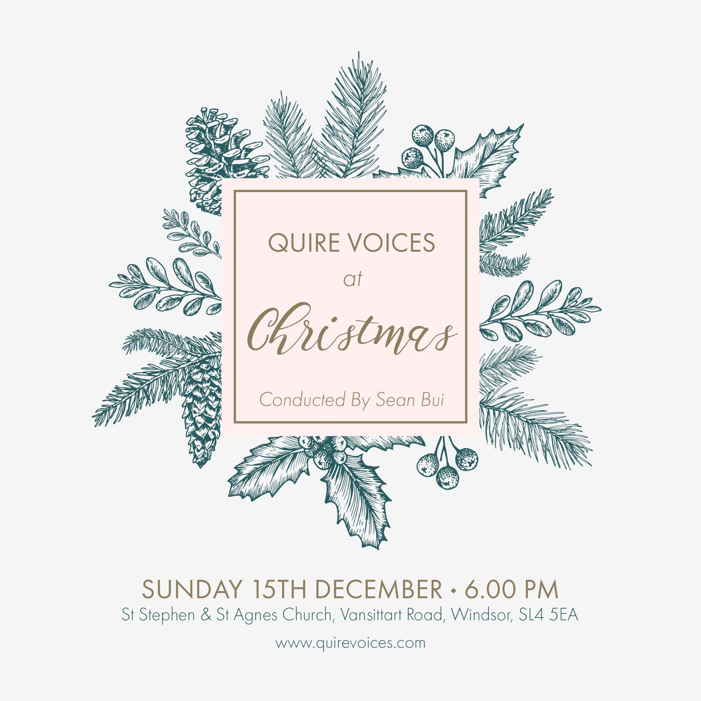 Quire Voices at Christmas