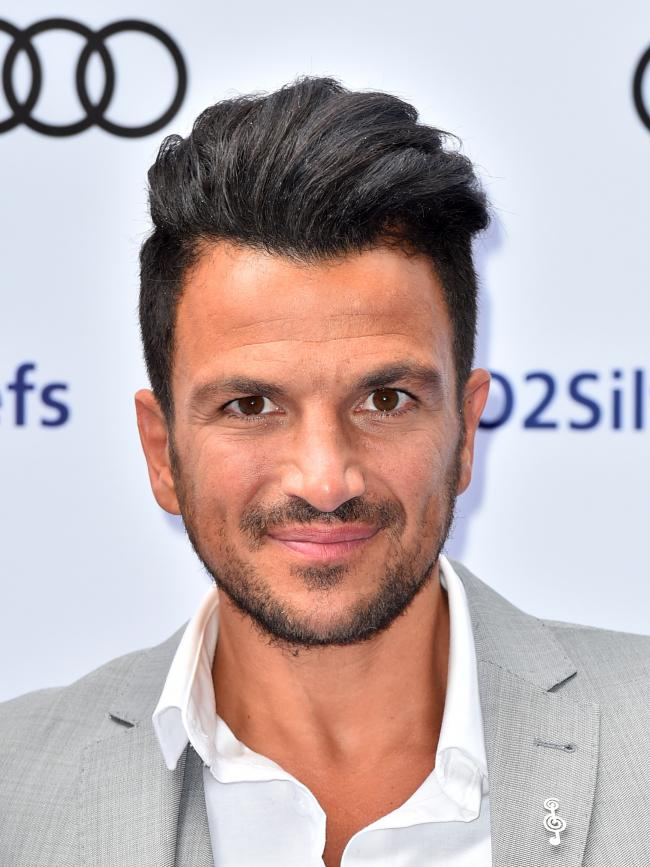 File photo dated 1/7/2016 of Peter Andre, who has spoken about his battle with social anxiety, saying he only realised his condition had a name when he heard Robbie Williams suffers from the same thing. PRESS ASSOCIATION Photo. Issue date: Thursday March