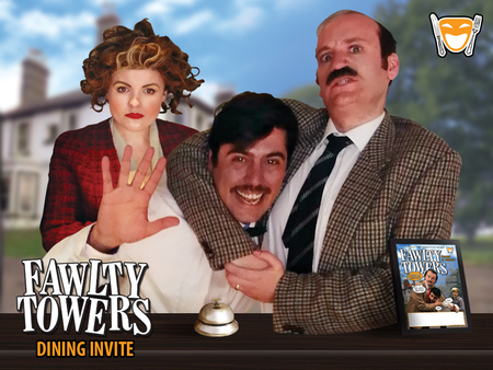 Fawlty Towers Comedy Dinner Show Holiday Inn Luton South 16/11/2019