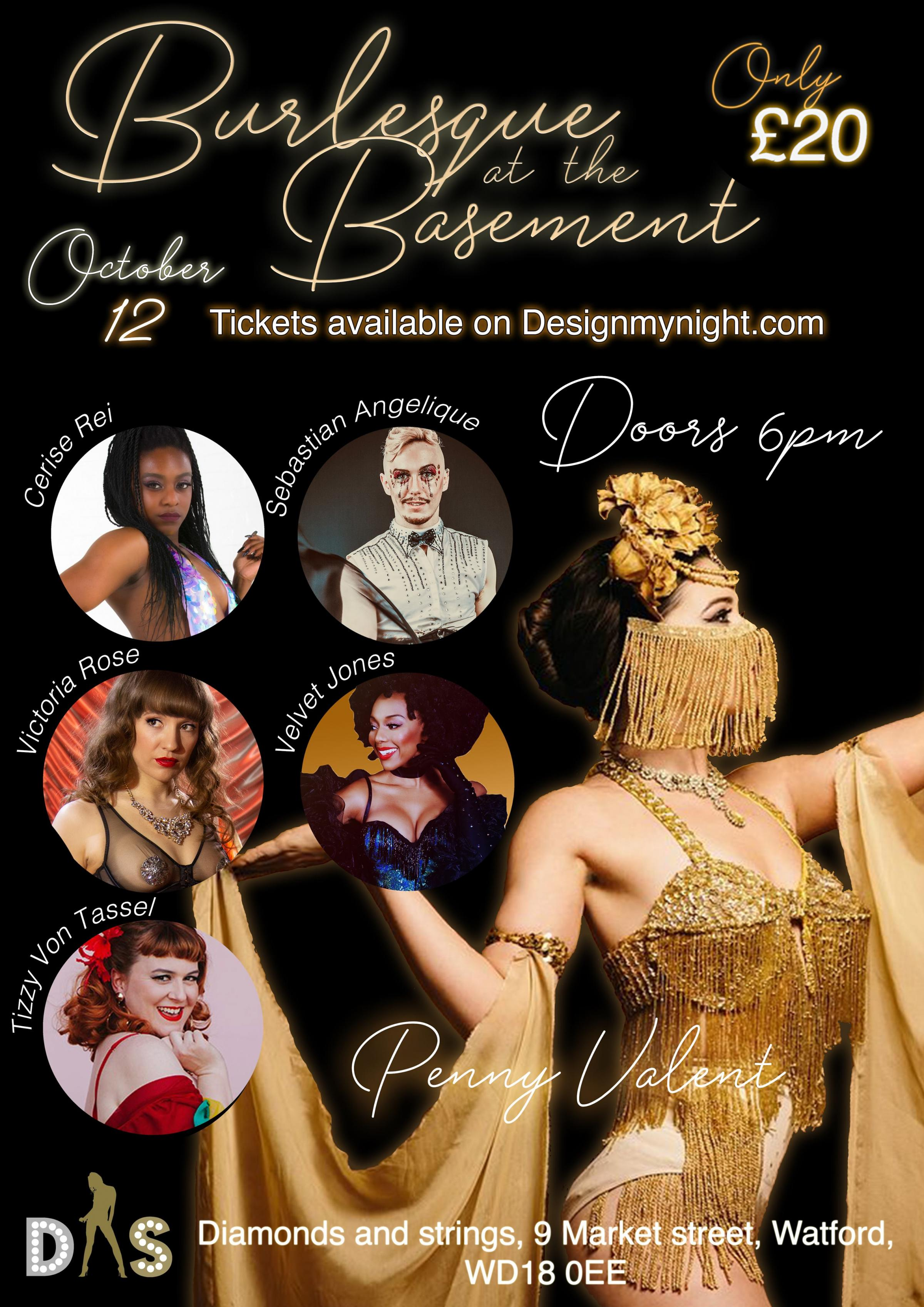 Burlesque at the Basement