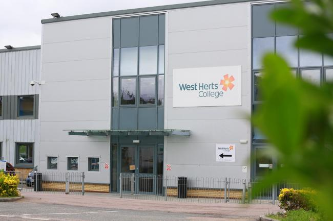 West Herts College campus in Kings Langley.