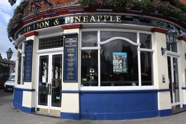 Good pint: the Red Lion and Pineapple earns a listing