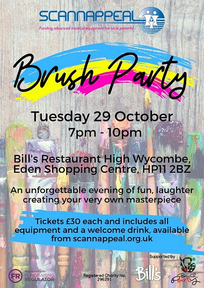 Brush Party in aid of Scannappeal