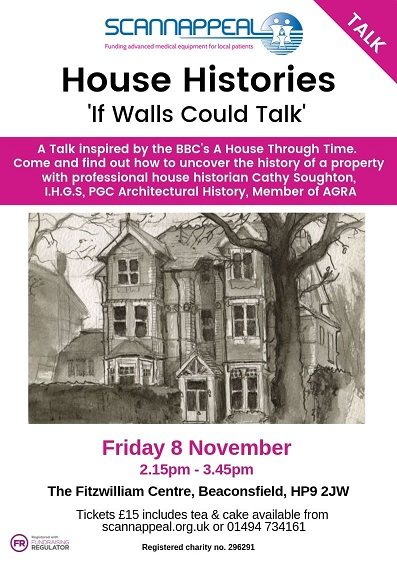 House Histories - 'If Walls Could Talk' in aid of Scannappeal