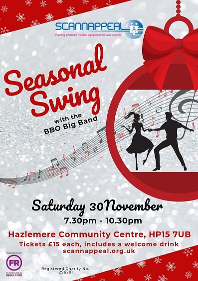Seasonal Swing with the BBO Big Band in aid of Scannappeal