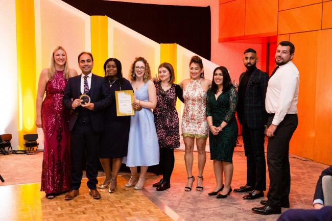 Glitterati: winners from last year's intu awards