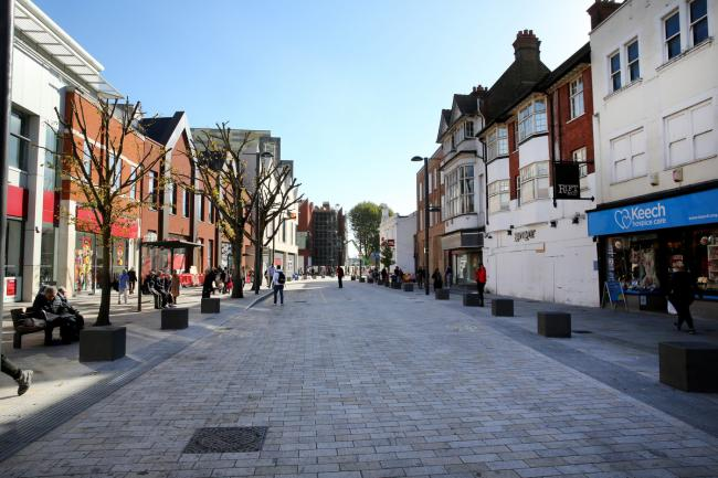 Watford High Street (photo Holly Cant)