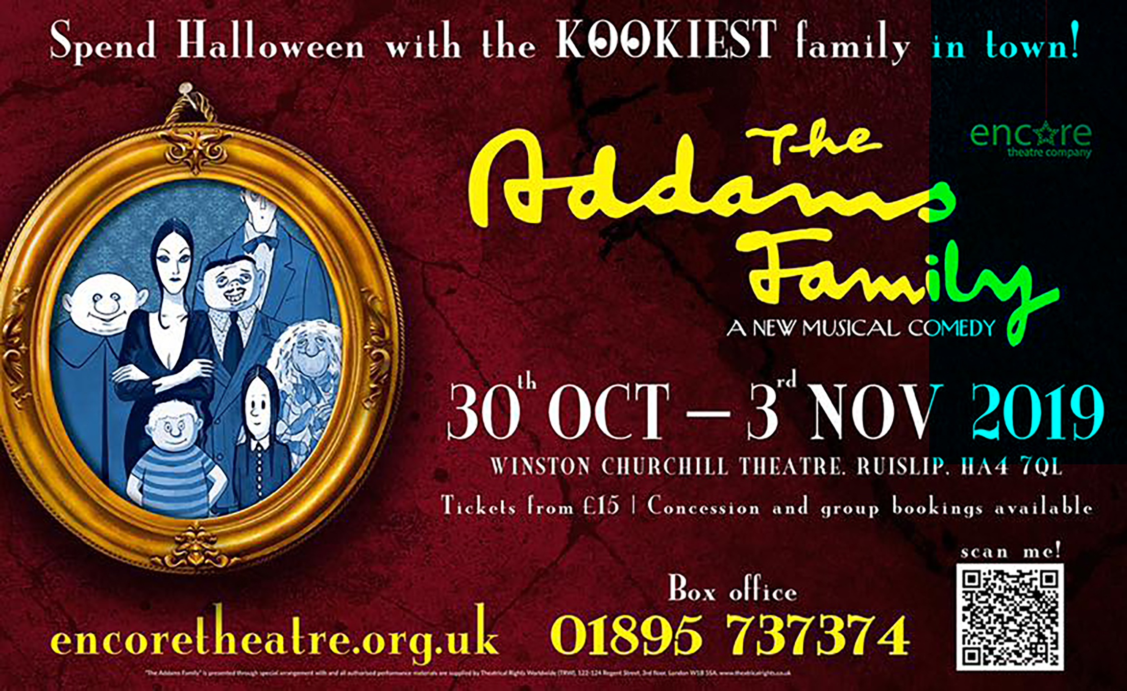 Encore Theatre UK presents The Addams Family Musical