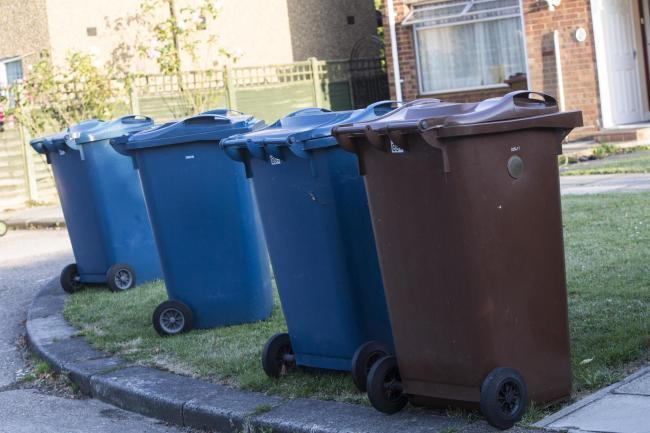 Residents have to pay to use the council's garden waste collection service (Photo: Newsquest)