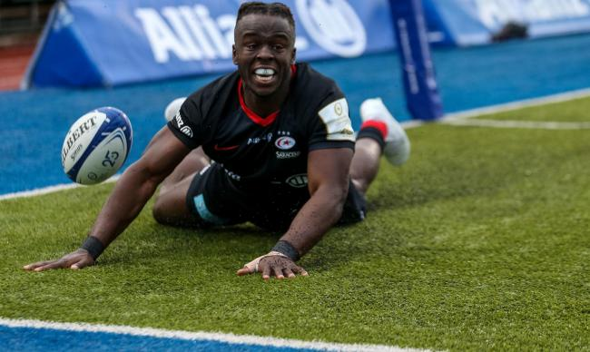 Rotimi Segun scored Saracens' only try