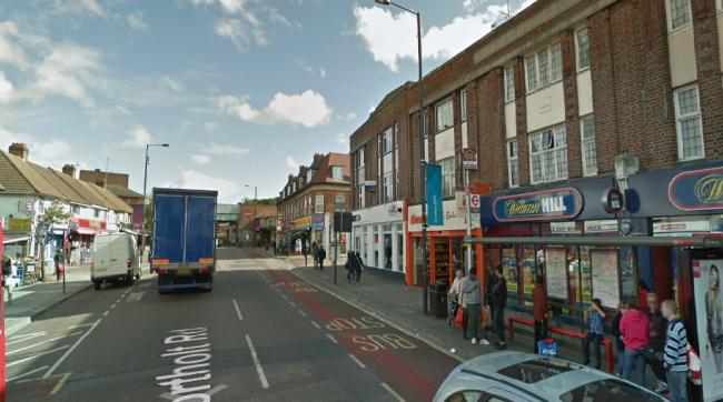 A man in his 20s was stabbed nearby South Harrow station. (Photo: Street View)