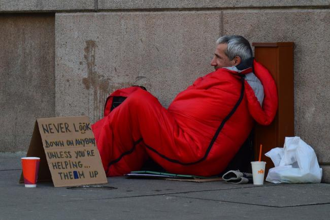 stock image. Rough sleepers in Watford have been given temporary accommodation