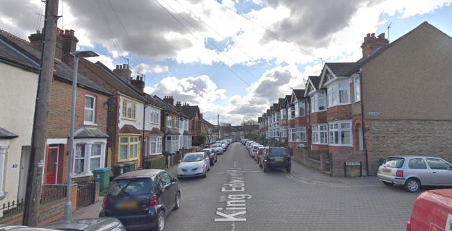 Three teenagers were followed then robbed at knifepoint at King Edward Road. (Photo: Street View)