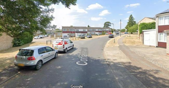 Police were called to Cotlandswick in London Colney last night. Photo: Google Street View