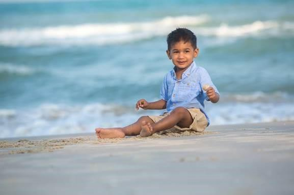 Veer Gudhka is a three-year-old who needs a matching stem cell donation