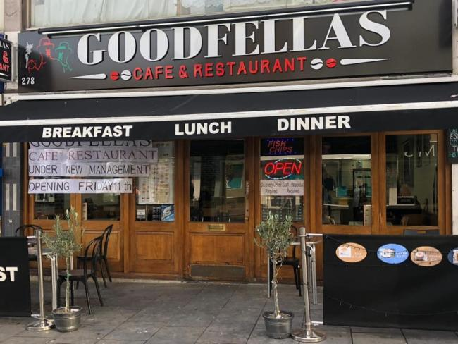 Goodfellas, Station Road, is struggling to stay open on the high street