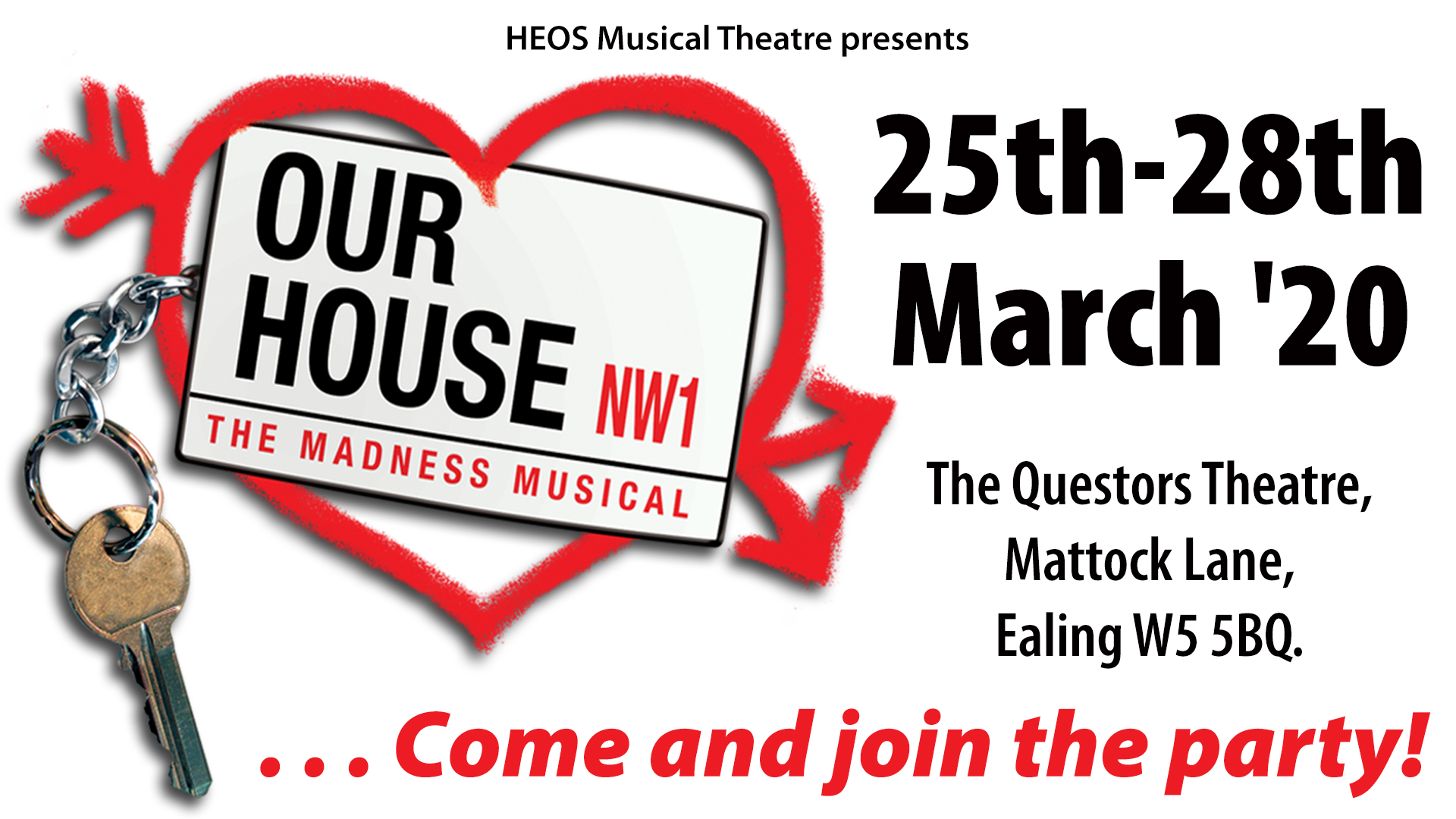 HEOS Musical Theatre presents Our House!