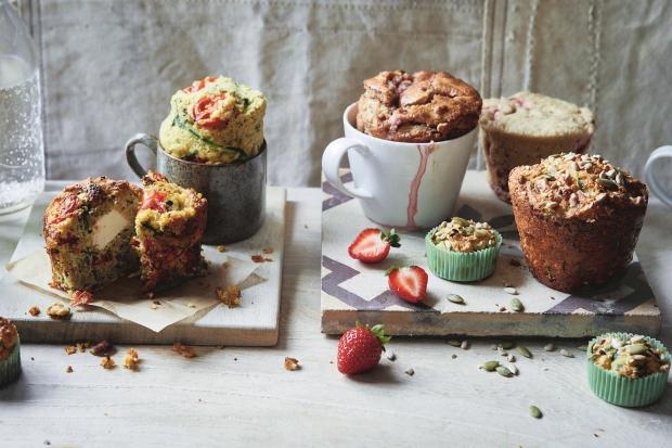 Muffins four ways Photography: Maja Smend