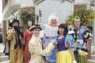 Michael Anderson plays the Prince and Julie Matheson stars as Snow White with cast members