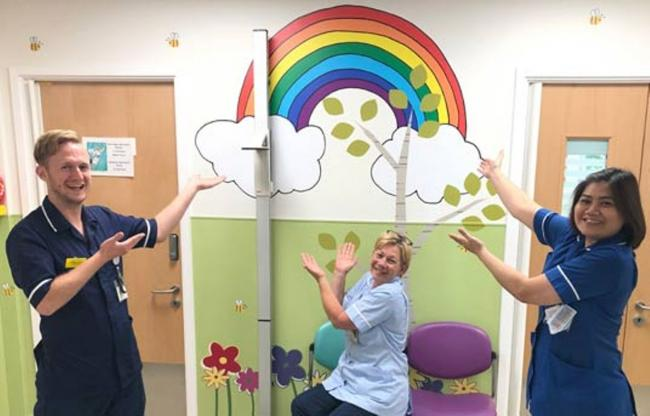 New name, new look: the paediatric day ward at Hillingdon Hospital