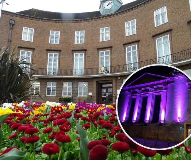 Watford Town Hall is to turn purple tonight to show support for Black Lives Matter