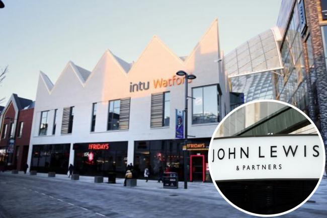 intu is in talks with John Lewis (photo insert PA)