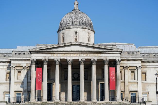 The National Gallery in Trafalgar Square