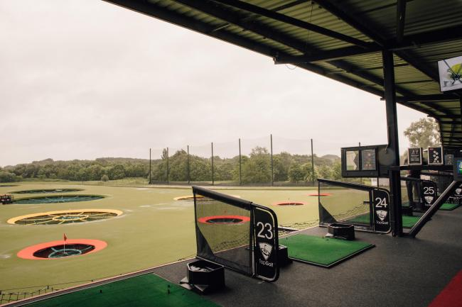 Topgolf is reopening to the public (photo Topgolf)