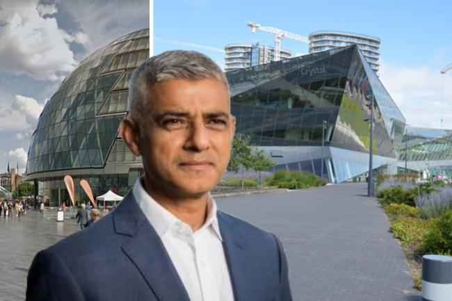 Sadiq Khan says mving to the Crystal will save £55 million.