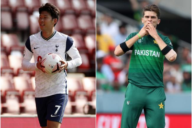Son Heung-min and Shaheen Afridi enjoyed a successful Sunday