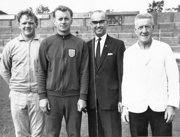 Hillingdon Times: Ken Furphy and his backroom staff