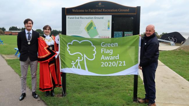 Hillingdon extends record title of most Green Flag Parks in the UK