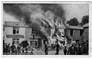 The Fatal Fire at Bushey Heath, June 23rd, 1908