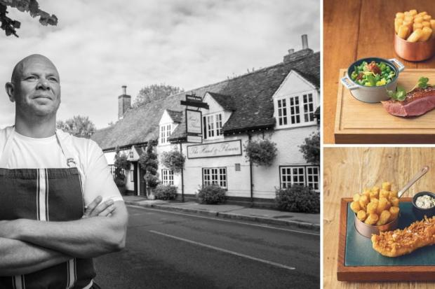 Tom Kerridge's Hand & Flowers is in Marlow