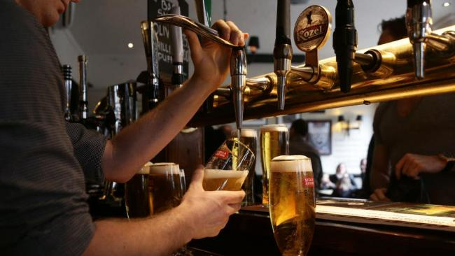 New rules for pubs and restaurants in the UK. Picture: PA Wire