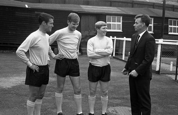 Hillingdon Times: Getting ready for pre-season in 1966
