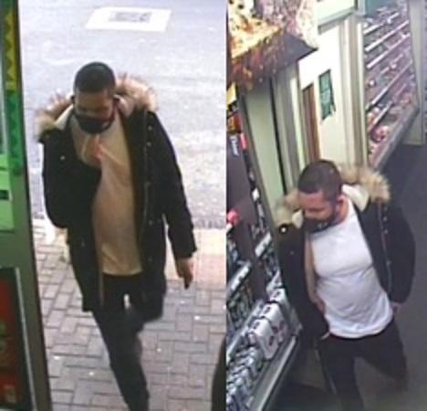 Police would like to identify and speak to this man as part of their enquiries (photo Herts Police)