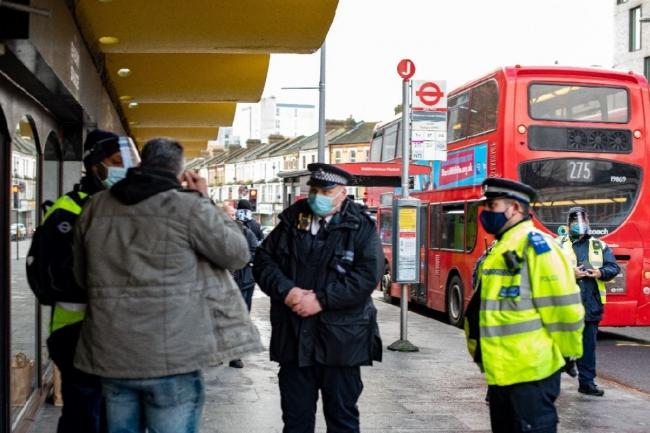 TfL has added 20 new enforcement officers since December as it looks to crack down on those flouting mask rules. Credit: TfL