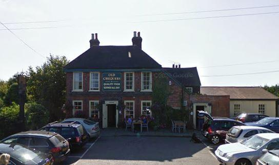 Hillingdon Times: The Old Chequers (google street view)