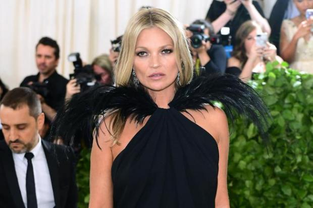 Hillingdon Times: Kate Moss was famously scouted when she was just 14 and living in Croydon with her family