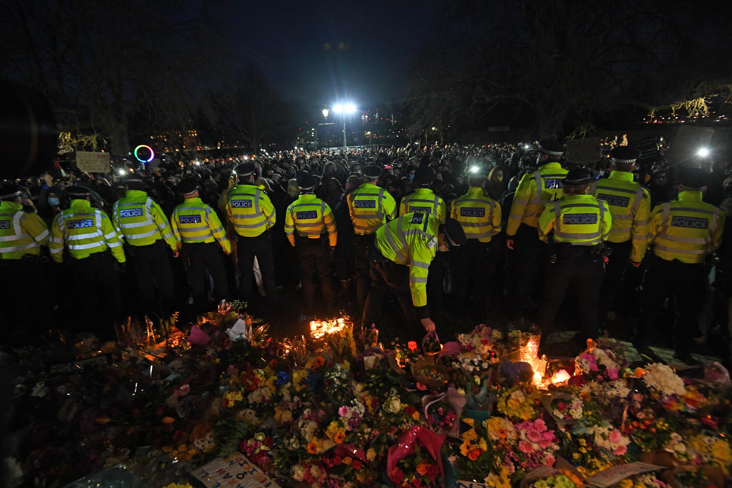 The Met was criticised for the way it handled the vigil on March 13. Credit: PA