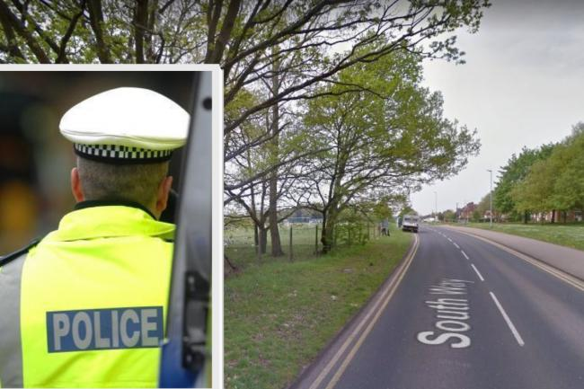 The incident happened in a field off South Way in Leavesden (photo google street view)