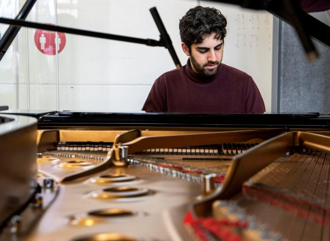 Driven: musician Francesco Redica and his musical, which is set to launch