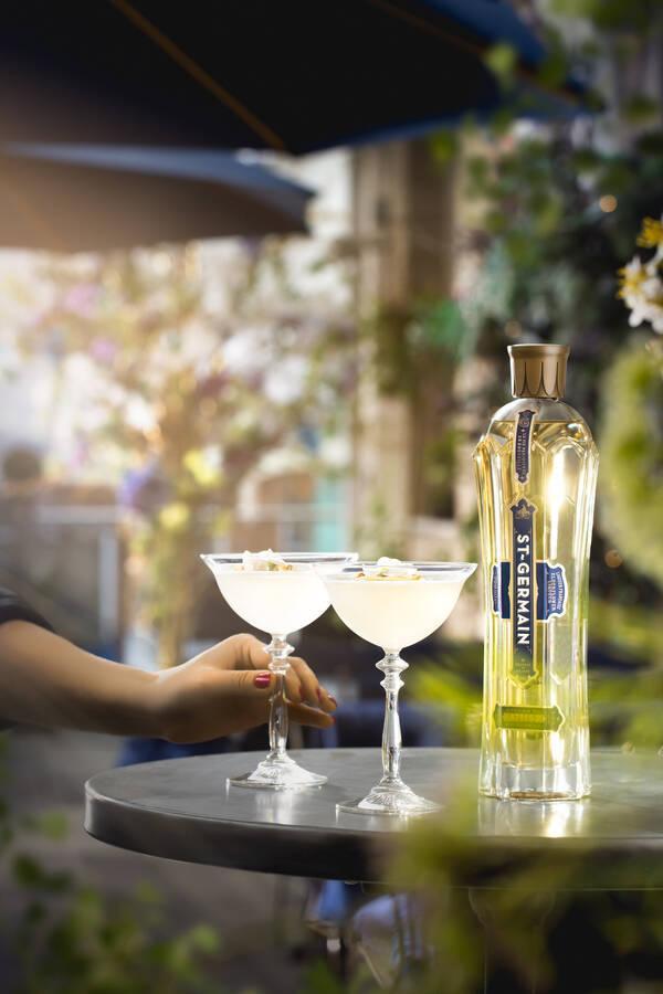 Hillingdon Times: St Germain cocktails at The Florist