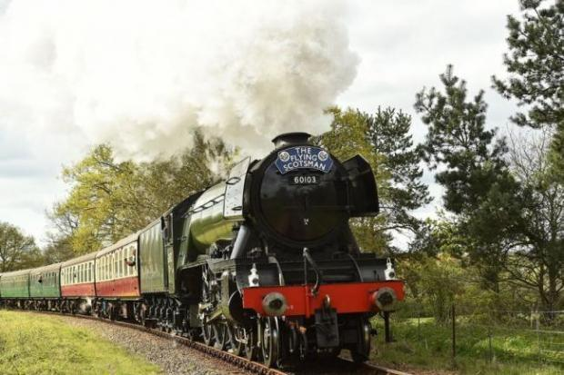 Hillingdon Times: The Flying Scotsman. Credit: Getty Images