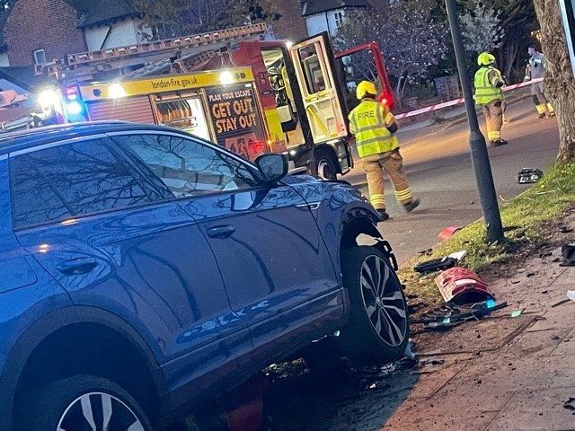 A crash in April