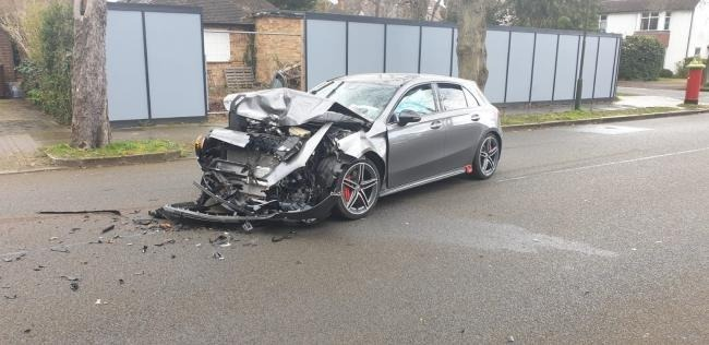 A crash earlier this year