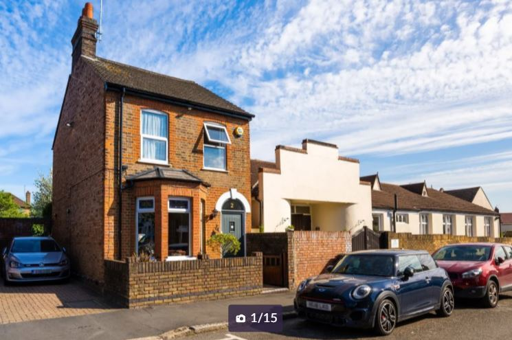 The house for sale in Diamond Road. Credit: Zoopla